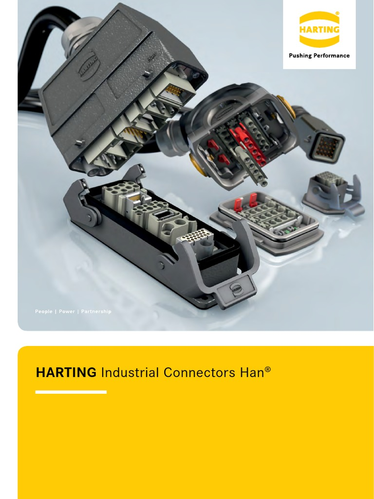 HARTING 09 00 000 5222 LOCKING LEVER HAN 6B CONNECTOR