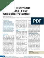Strength Nutrition Maximizing Your Anabolic.8
