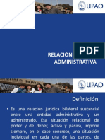 Relacion Juridico Administrativa