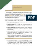 Dialectos Sociales y Estilísticos