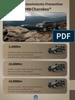 Plan de Mantenimiento Jeep Cherokee