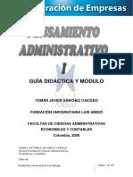 Pensamiento Administrativo i