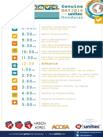Genuinoday Horario-2016