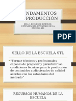 Fundamentos de Producción Sello Rrhh Dependencias