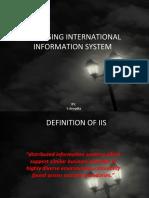 Unit -3 Managing International Information System