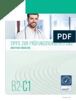 Telc Deutsch B2 C1 Medizin Fachsprachpruefung Uebungstest 1
