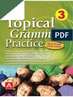 Topical Grammar Practice 3