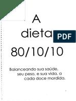 Dieta 80-10-10