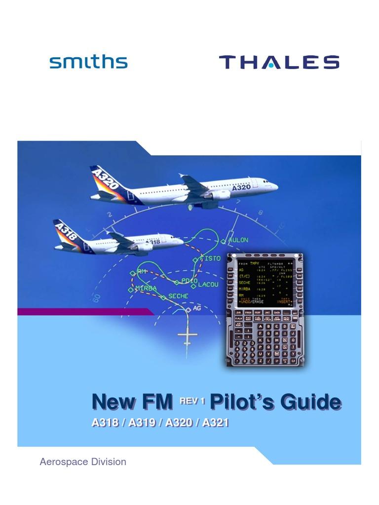 smiths thales a 1 0 1 fm pilot guide pdf rh scribd com FMS Aviation Airbus PFD