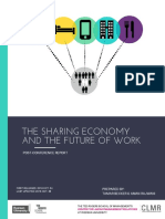 The Sharing Economthe Sharing Economy and the Future of Work