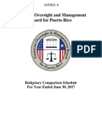 Financial Oversight and Management Board for Puerto Rico's Annex A to FIscal Year 2017 Report
