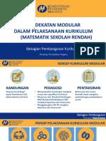 3. Konsep Modular Dalam Matematik KSSR