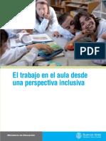 Trabajo Aula Perspectiva Inclusiva