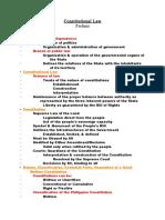 Constitutional Law (Prelims)