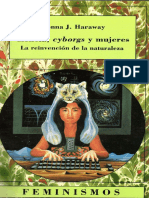 Donna Haraway - Ciencia, Cyborgs y Mujeres