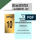 Cap-10-Metodo Del Trabajo Virtual Utilizando El c.i.r. - PDF