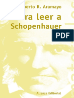 Aramayo Roberto R. - Para Leer a Schopenhauer.pdf