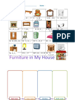 Furnitureworksheet Fun Activities Games 40255