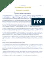 Resolución DOCM Bolsas Extraordinarias 2017
