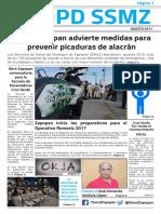 Edición 01 | Gaceta Servicios de Salud del Municipio de Zapopan