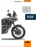 KTM Adventure R 2014 Service Manual