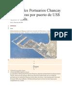 Terminales Portuarios Chancay