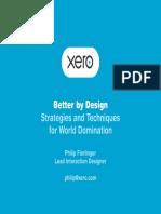 Xero Better by Design84