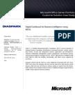 SharePoint Digital Dashboard BI MOSS Solution