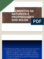 AULA 2 ELEMENTOS DA NATUREZA E PROPRIEDADE DOS SOLOS.pdf