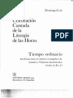 ANTIFONAS PARA EL CANTICO EVANGELICO TIMPO ORDINARIO DOMINGOS II AL XII.pdf