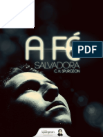 A Fe Salvadora - Spurgeon