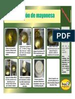 Receta Mayonesa Arepa Vaquera