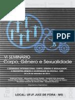 Anais Corpo, Genero e Sexualidade