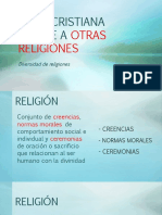 Ética Cristiana Frente a Otras Religiones