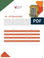 QP MICROWAVE  Attenuators