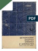 Meteorologie Sinoptica Dinamica Si Aeronautica