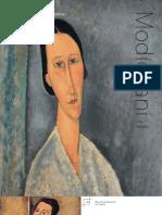 Guia  Didactica del museo Thyssen- Bornemisza sobre Modigliani