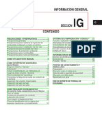 Seccion Ig - Informacion General