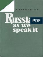 S. Khavronina - Russian as we speak it.pdf