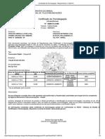 Certificado de Homologação CC3870 U6GHz