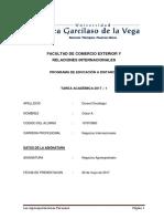 Tarea Negocio Agroexportador - CDO