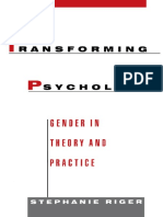 Transforming Psychology. Gender in Theory and Practice