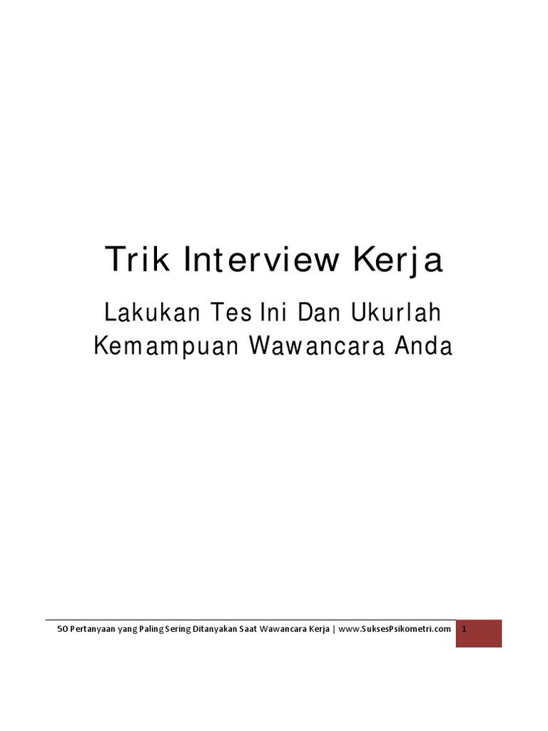 50 Pertanyaan yang Paling Sering Ditanyakan Saat Wawancara Kerja.pdf b6ba5fbe9c