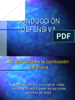 Curso Manejo a La Defensiva