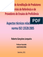 Aspectos Técnicos Relacionados à Norma ISO 13528