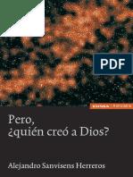Pero, ¿quién creó a Dios? - Alejandro Sanvisens Herreros