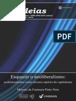 Moyses Pinto Neto - Esquecer o Neoliberalismo - Aceleracionismo como terceiro espírito do Capitalismo.pdf