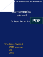 Econometric s Lecture 45