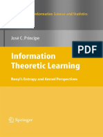 PRINCIPE_Information Theoretic Learning