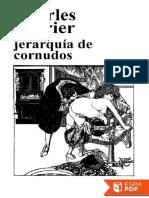Jerarquia de Cornudos - Charles Fourier